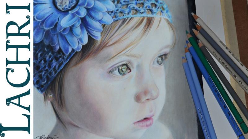 Colored Pencil Portrait Tutorial This Colored Pencil Tutorial