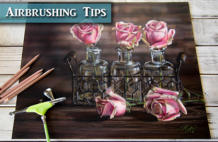 Getting Started with Airbrushing Realistic Paintings