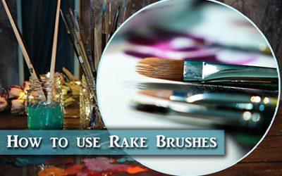 Rake Brush for painting fur – Review & Demo
