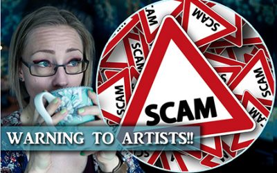 Warning Artists!! Don't Get Scammed!
