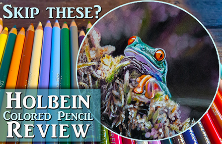 Holbein Colored Pencil Review from a Professional Artist