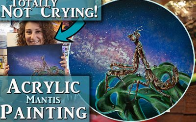 Acrylic Painting Tips &  making people cry again