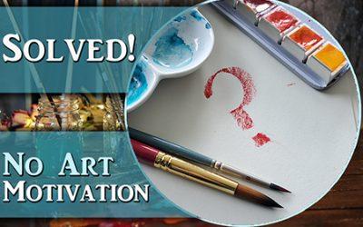 Solving your Art Motivation problems!!