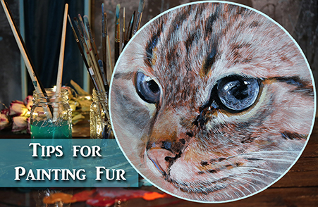 Acrylic Painting Tips –  Painting Cat Fur