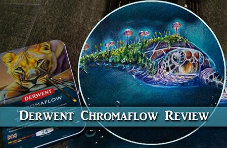 Derwent Chromaflow Colored Pencil Review