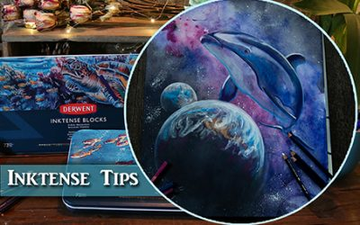Inktense Painting Tips