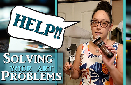Fixing your art problems – Rake Brush Issues SOLVED!