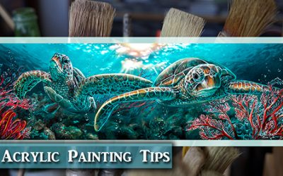 Acrylic Painting Tips –  Realistic Sea Turtles