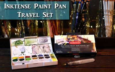 Painting Plein Air with Derwent's Inktense Travel Set!