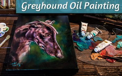 Greyhound Oil Painting Tips
