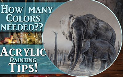Color tips for acrylic painting