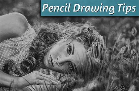 Drawing A Realistic Pencil Portrait