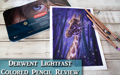 Derwent Lightfast Colored Pencil Reveiw & Tips