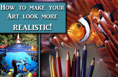 How to Make your Paintings Look Realistic