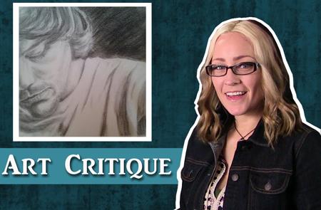Drawing Critique – Charcoal Portrait