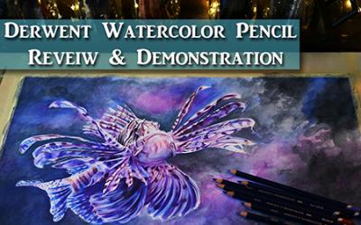 Derwent Watercolor Pencil Review & Tips