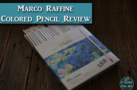 Marco Raffine Fine Art Colored Pencil Review