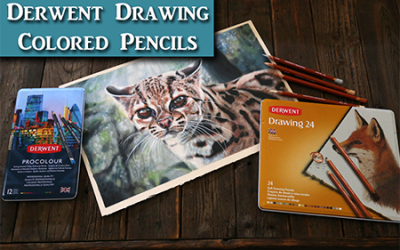 Derwent Drawing & Procolour Colored Pencils
