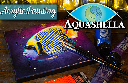 My Aquashella Experience & How to Paint a Fish