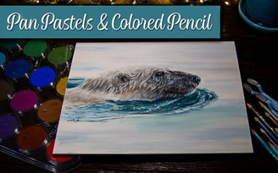 Pan Pastels & Colored Pencil Mixed Media Tips