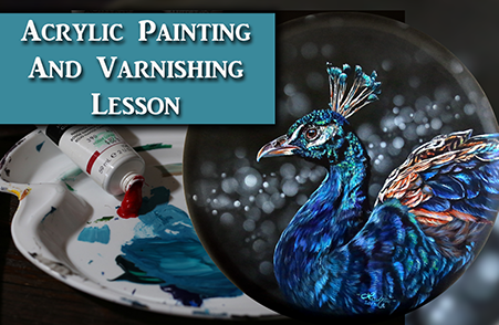How to Paint a Realistic Peacock in Acrylics