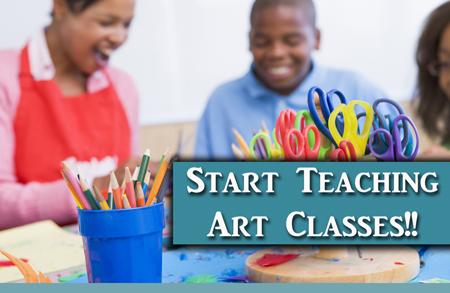 Start Teaching Your Own Art Classes