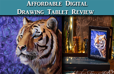 Review – Simbans PicassoTab Affordable Drawing Tablet for Artists