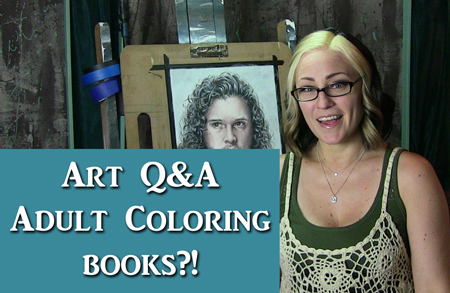 Art Q&A – Adult Coloring Books