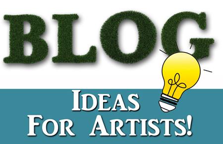 Art Q&A – Blog Ideas for Artists