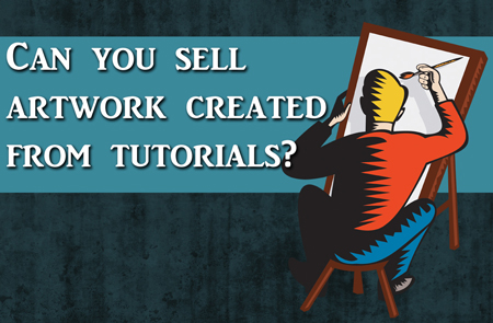 Art Q&A – Selling Art Created from a Tutorial