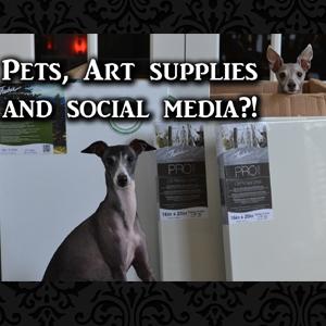 Pets, Art and Social Media?