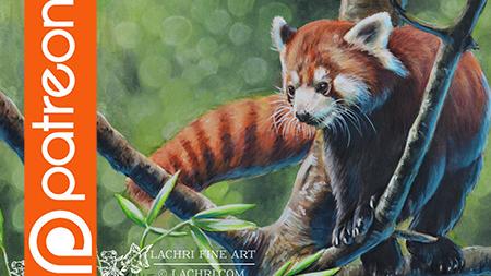Patreon – Inktense Red Panda