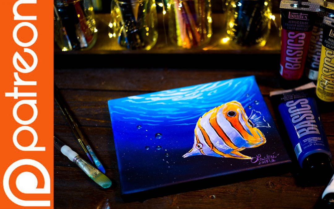 Patreon – Your First Acrylic Painting
