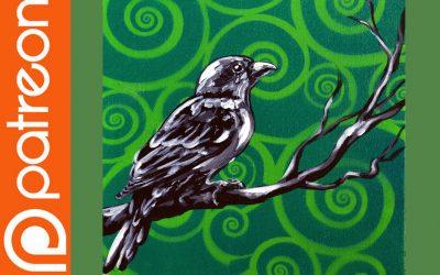 Patreon – Pop Art Bird Painting Lesson