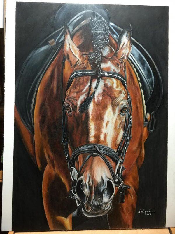 Colored Pencil Horse Drawing Critique Lachri Fine Art